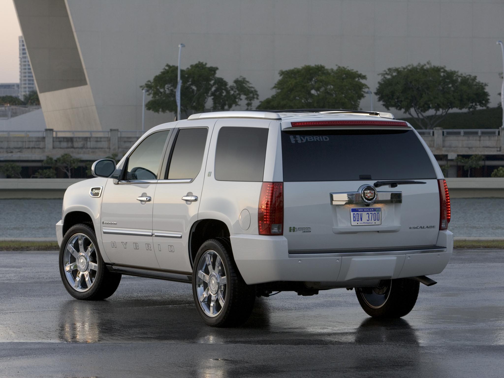 Cadillac Escalade Hybrid 2008 Cadillac Escalade Hybrid