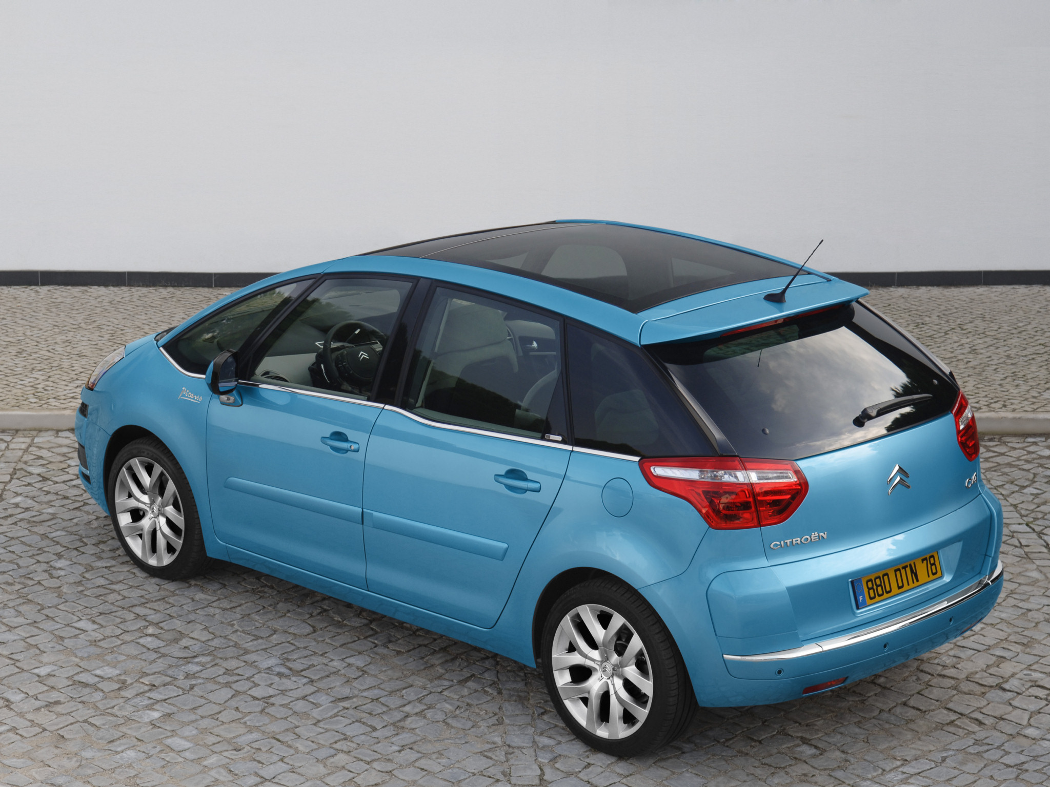 citroen c4 picasso 5 seater 2007 citroen c4 picasso 5 seater 2007 photo 18 car in pictures. Black Bedroom Furniture Sets. Home Design Ideas