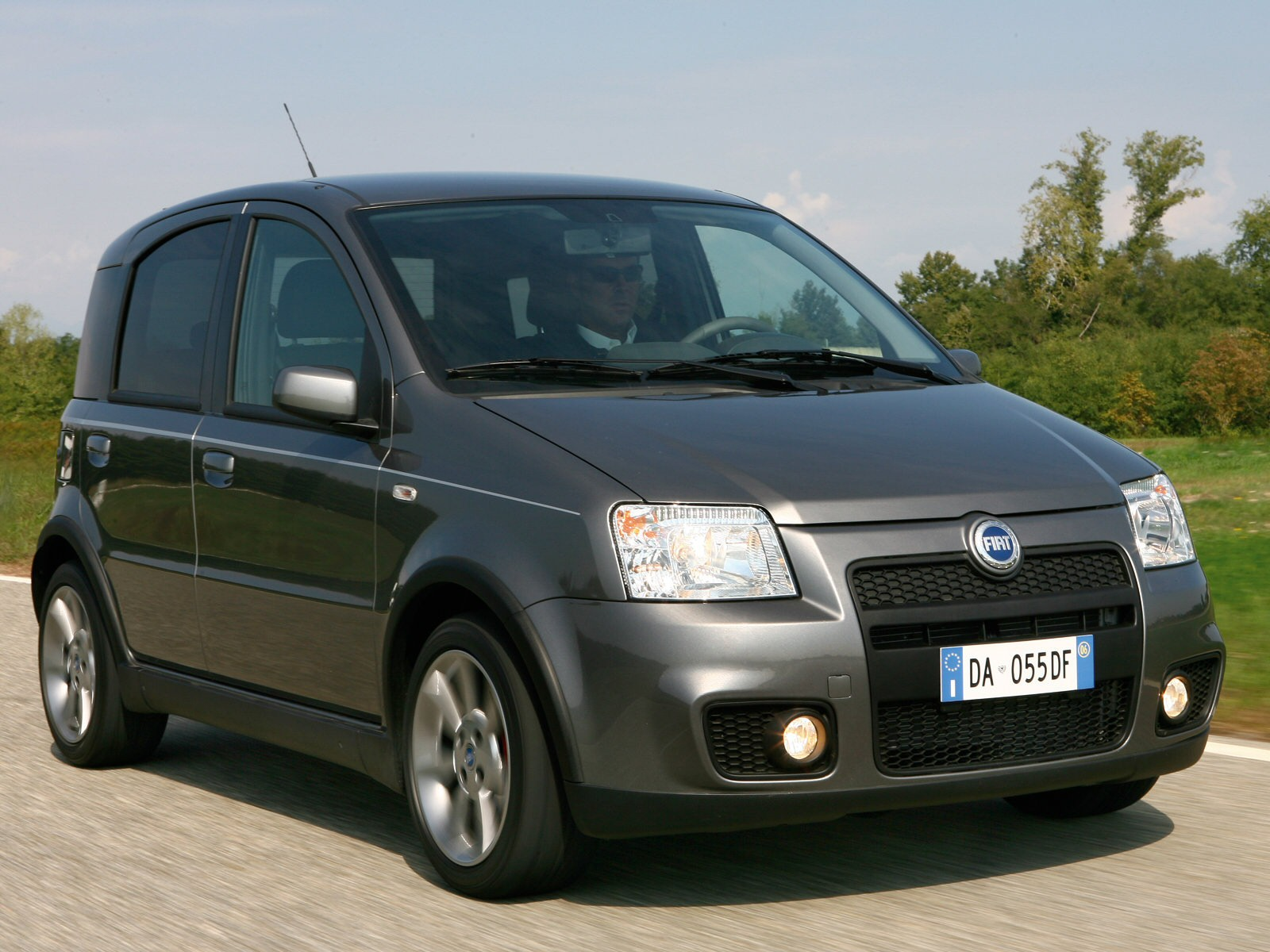 fiat panda 100hp 2007 fiat panda 100hp 2007 photo 13 car in pictures car photo gallery. Black Bedroom Furniture Sets. Home Design Ideas