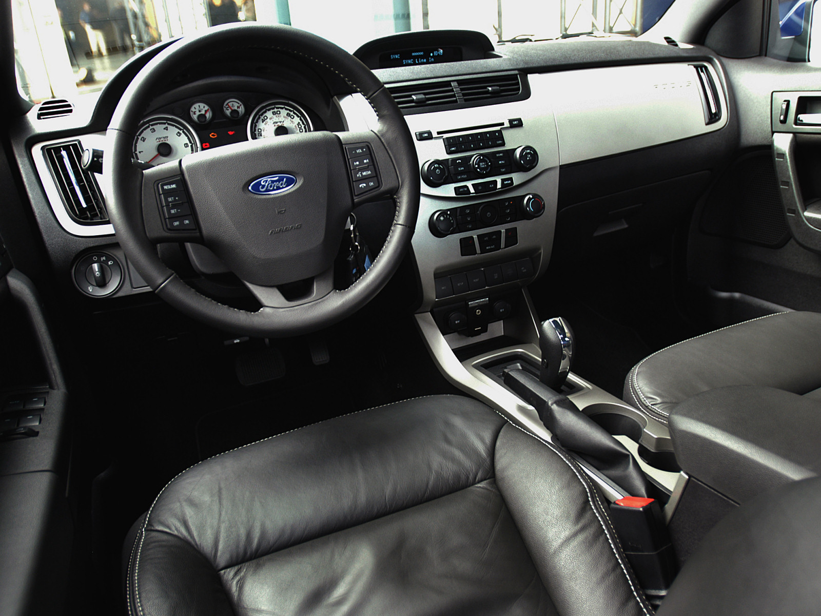Ford Fiesta 2014 Sedan Black