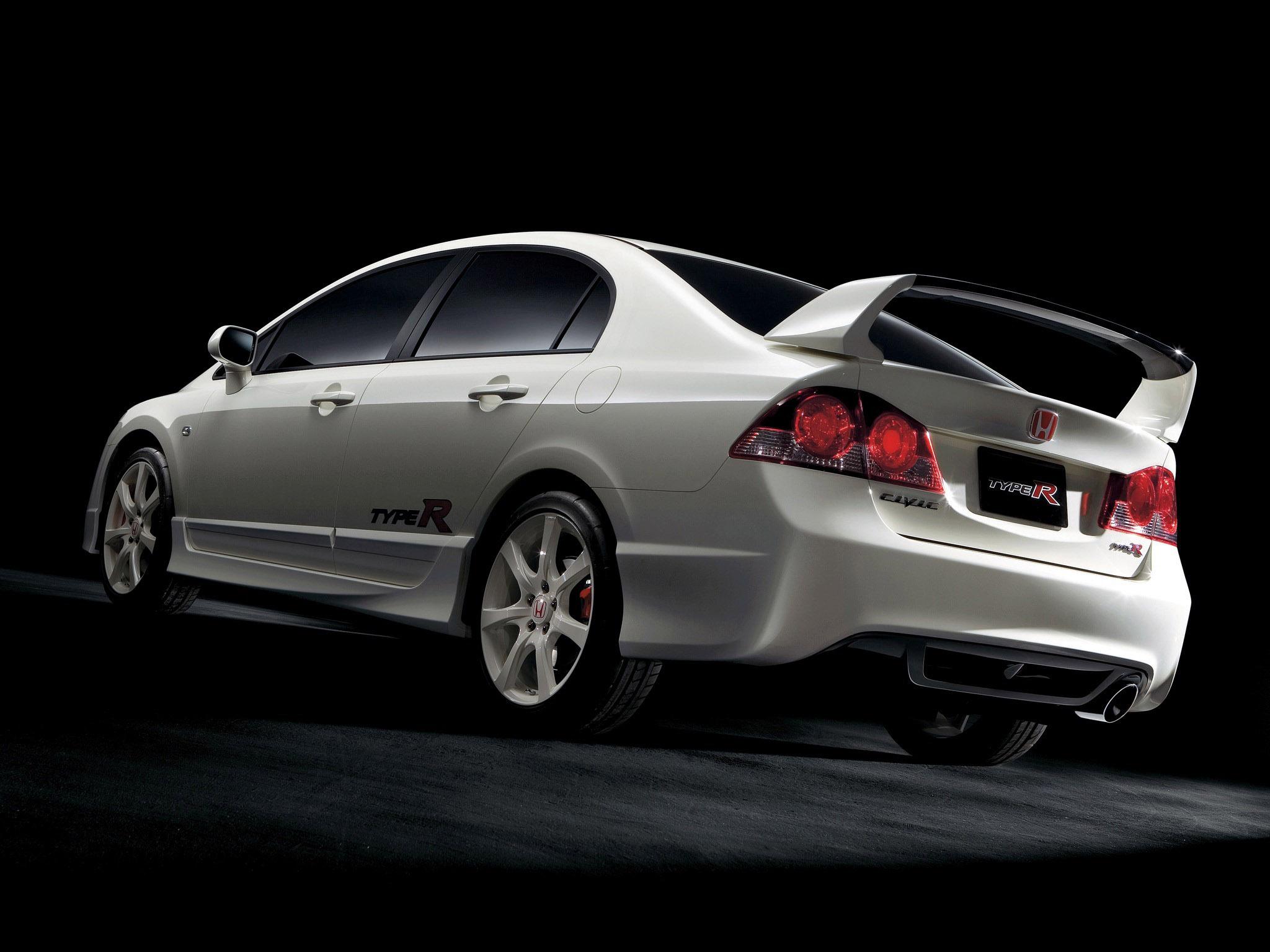 Honda civic type r sedan 2012