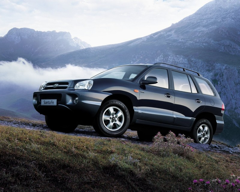 Hyundai Santa Fe 2005 Hyundai Santa Fe 2005 Photo 04 – Car in ...
