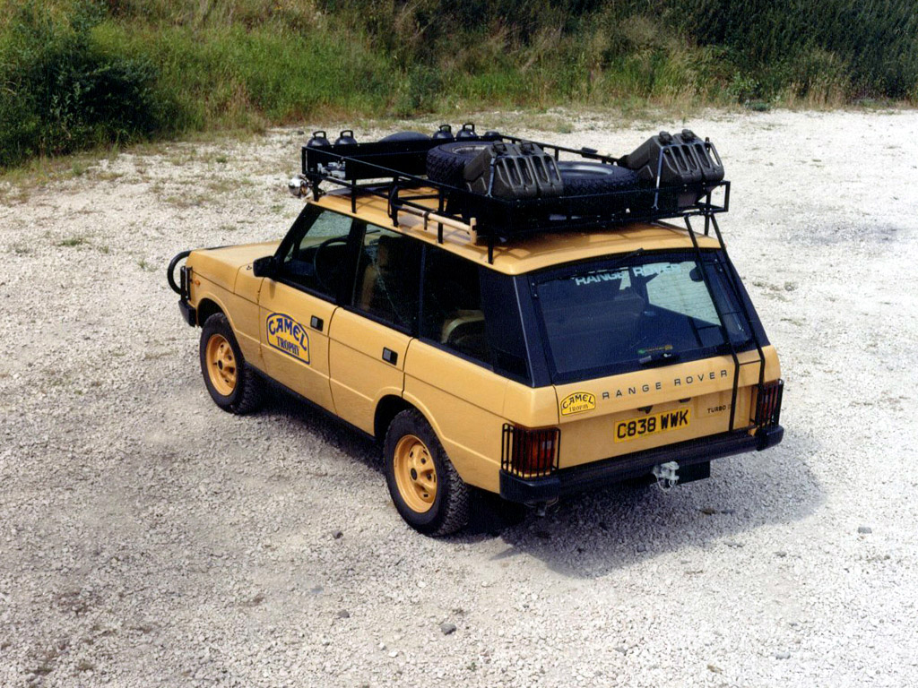 Land Rover Range Rover Camel Trophy Land Rover Range Rover