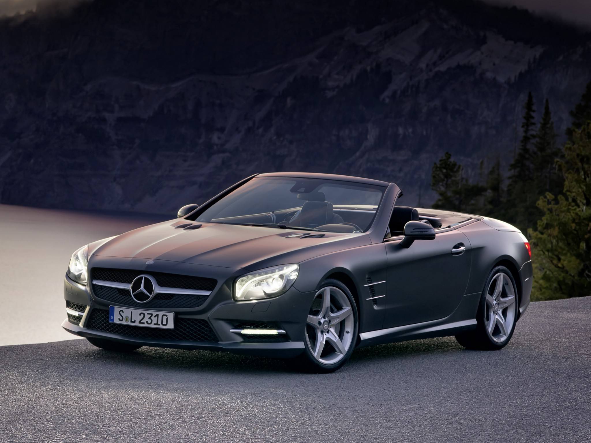 mercedes sl klasse 500 amg sports package r231 2012. Black Bedroom Furniture Sets. Home Design Ideas