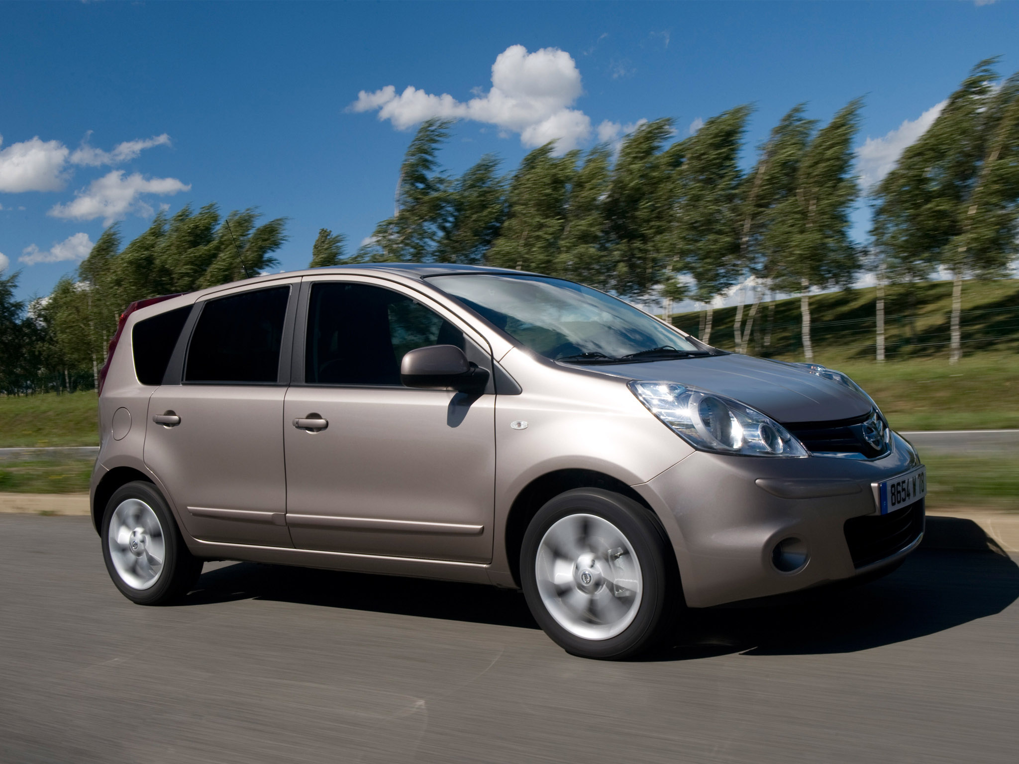 nissan note uk 2008 nissan note uk 2008 photo 02 car in pictures car photo gallery. Black Bedroom Furniture Sets. Home Design Ideas