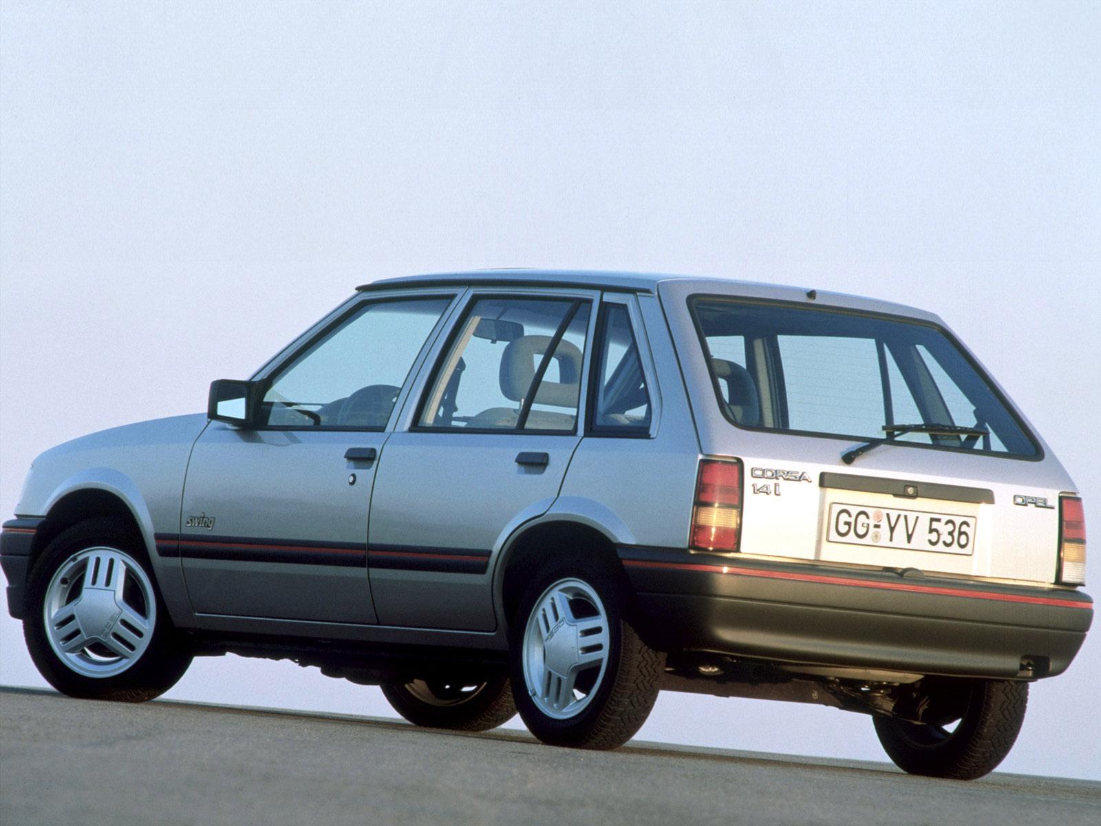 opel corsa a 5 door 1990 1993 opel corsa a 5 door 1990 1993 photo 01 car in pictures car. Black Bedroom Furniture Sets. Home Design Ideas