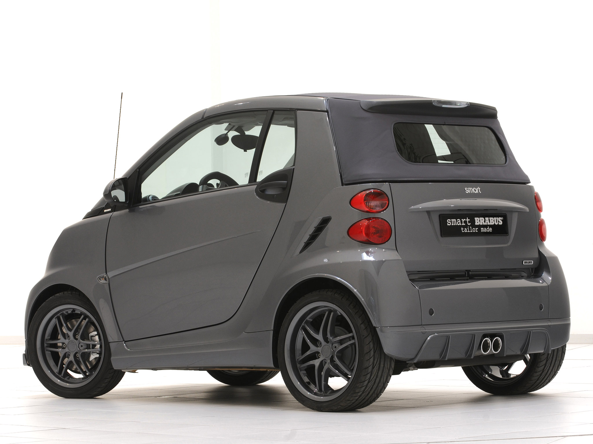 brabus smart fortwo tailor made grey 2010 photo 02 car in pictures. Black Bedroom Furniture Sets. Home Design Ideas