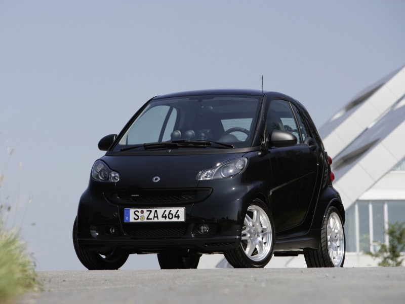 brabus smart fortwo xclusive coupe 2007 brabus smart. Black Bedroom Furniture Sets. Home Design Ideas