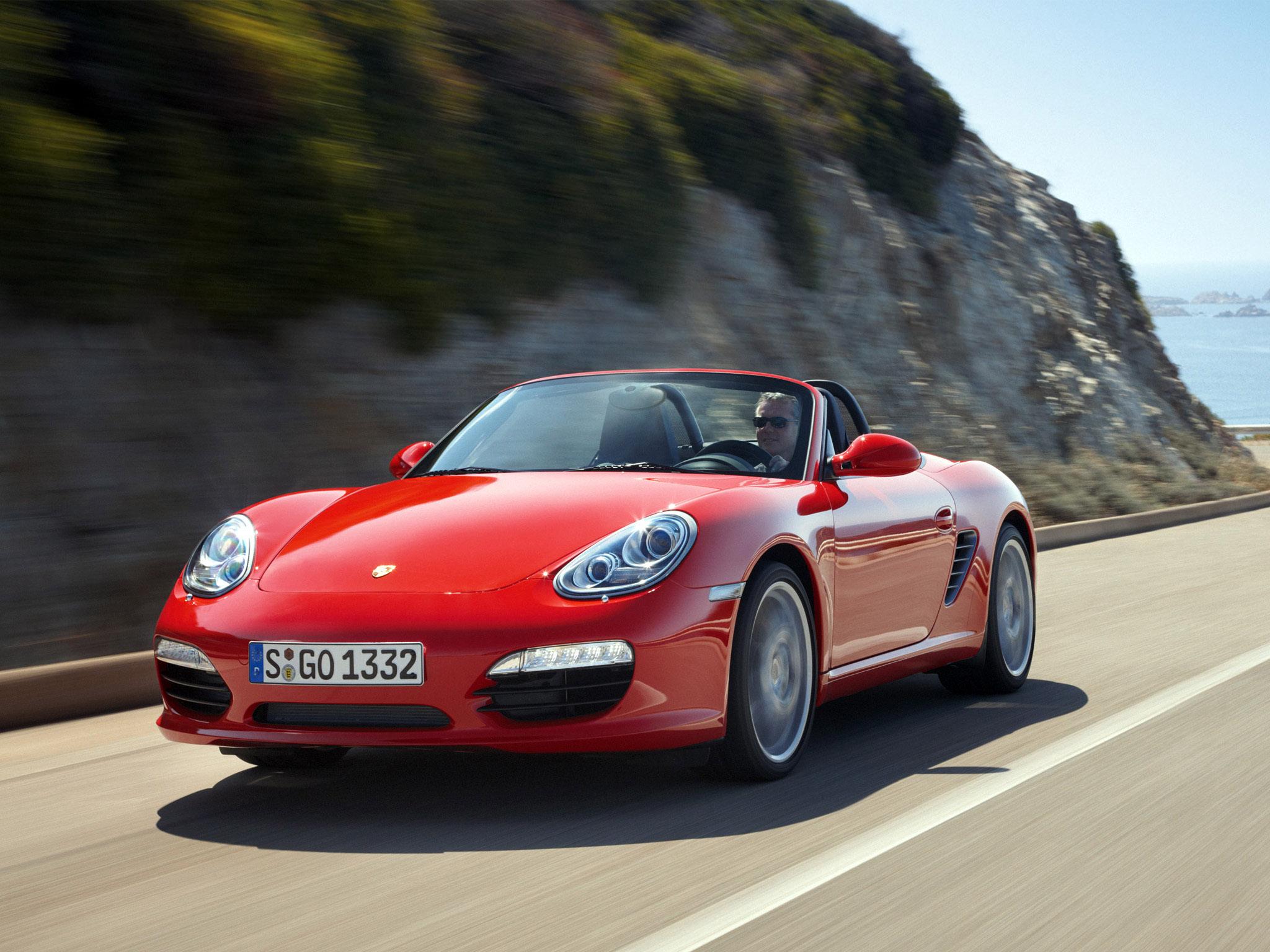 Porsche Boxster : porsche-boxster-red-1.jpg