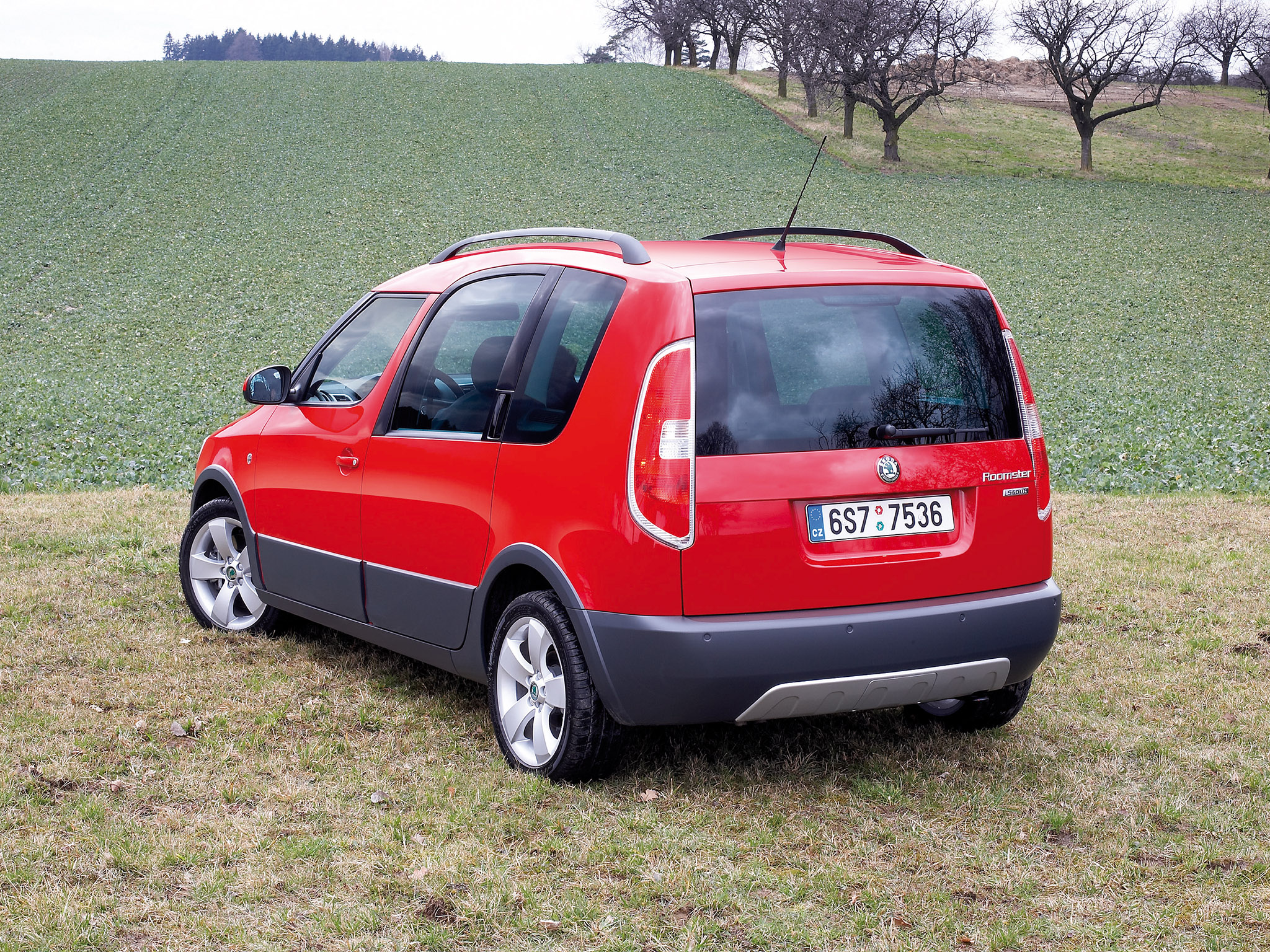 skoda roomster scout 2007 skoda roomster scout 2007 photo 02 car in pictures car photo gallery. Black Bedroom Furniture Sets. Home Design Ideas