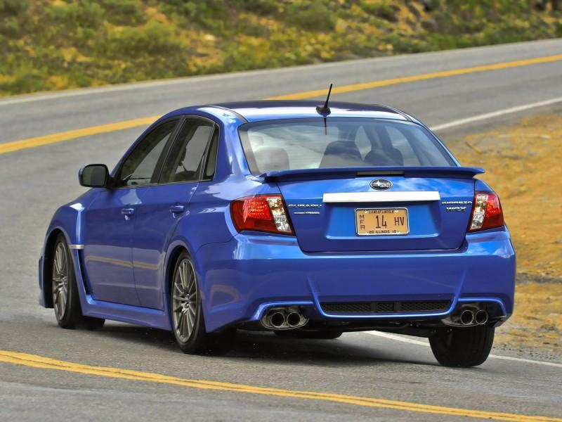 Subaru Impreza Wrx Sedan Usa 2010 Subaru Impreza Wrx Sedan Usa 2010