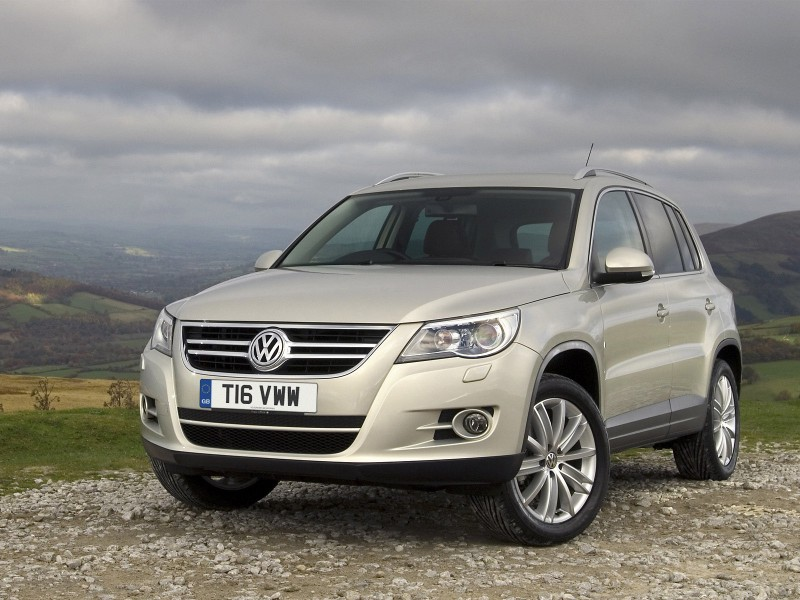 Volkswagen Tiguan Uk 2008 Volkswagen Tiguan Uk 2008 Photo