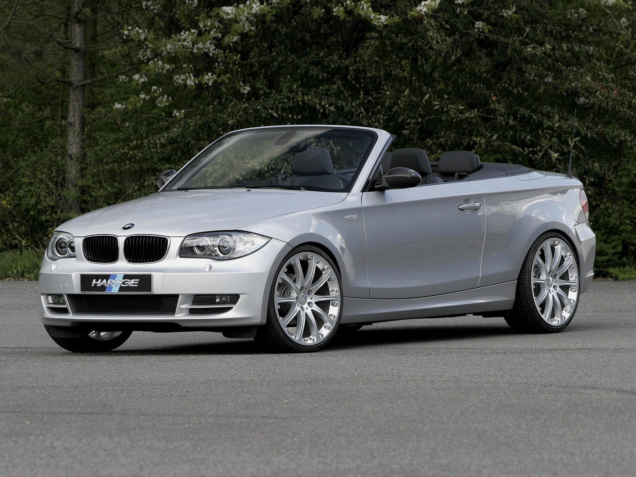 BMW 1-Series 135i Cabrio E88 2008 Hartge BMW 1-Series 135i Cabrio E88 ...