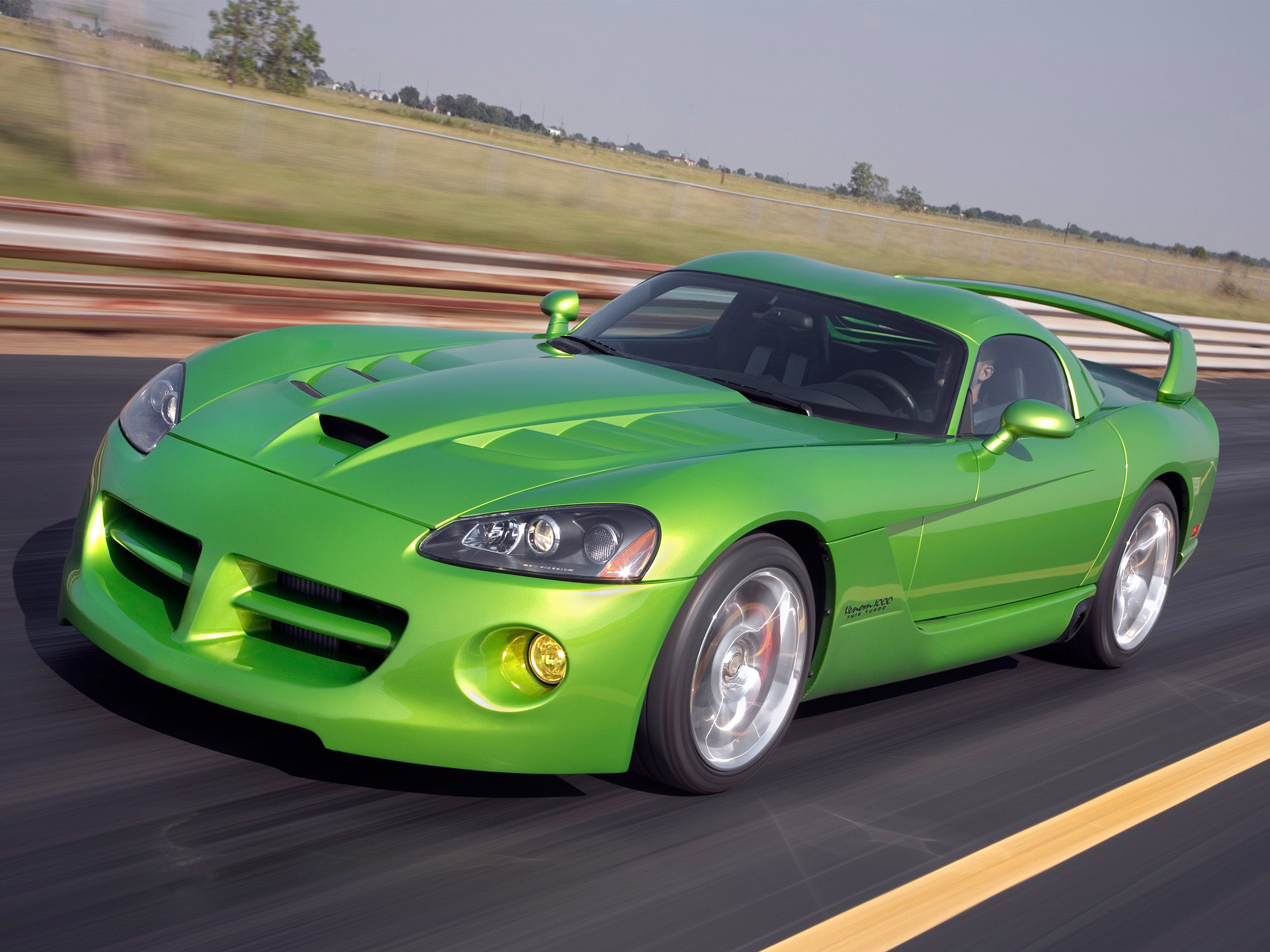 Hennessey Dodge Viper Venom 1000 Twin Turbo SRT Coup Hennessey