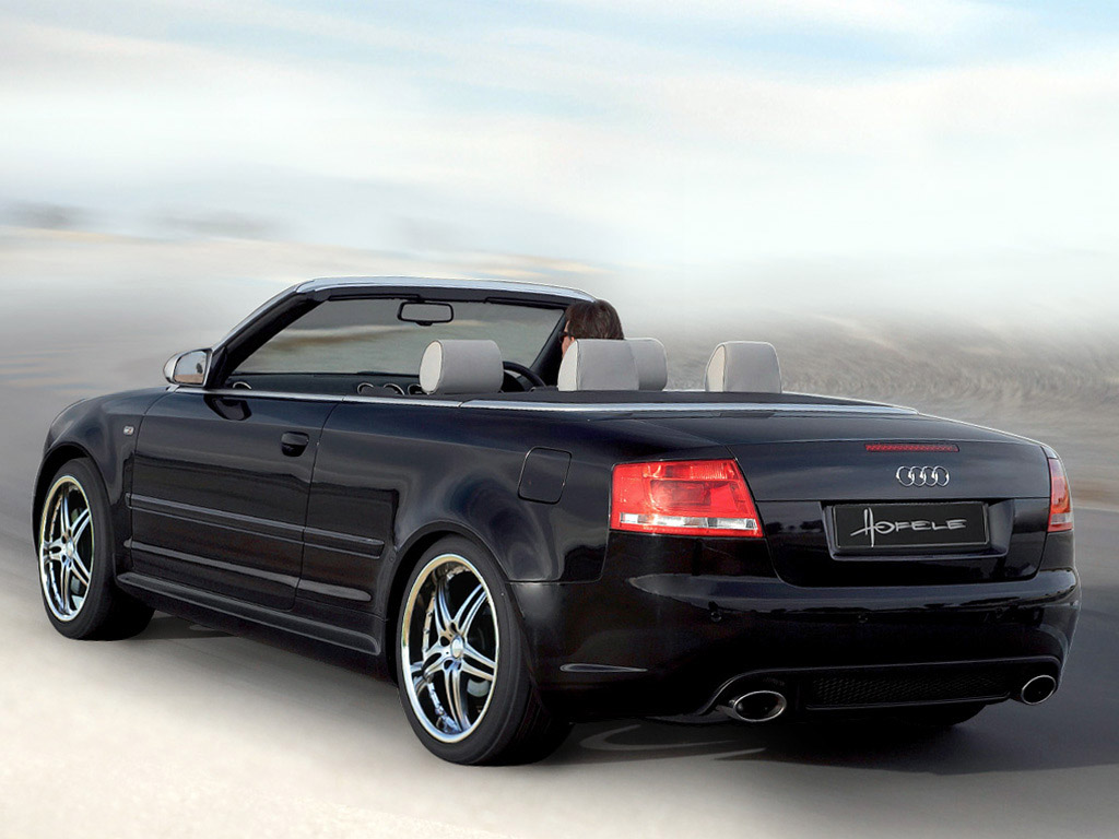 hofele design audi a4 cabrio b7 8h 2005 hofele design audi a4 cabrio b7 8h 2005 photo 02 car. Black Bedroom Furniture Sets. Home Design Ideas