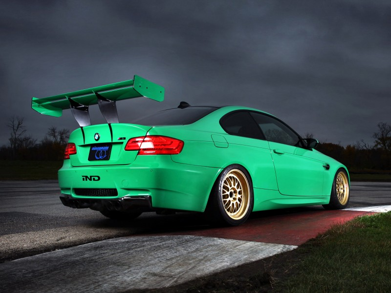bmw m3 coupe green - photo #8