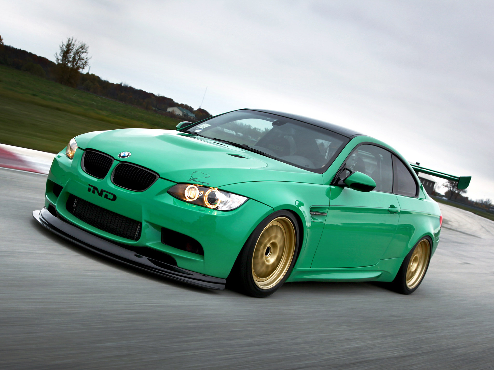 bmw m3 coupe green - photo #2