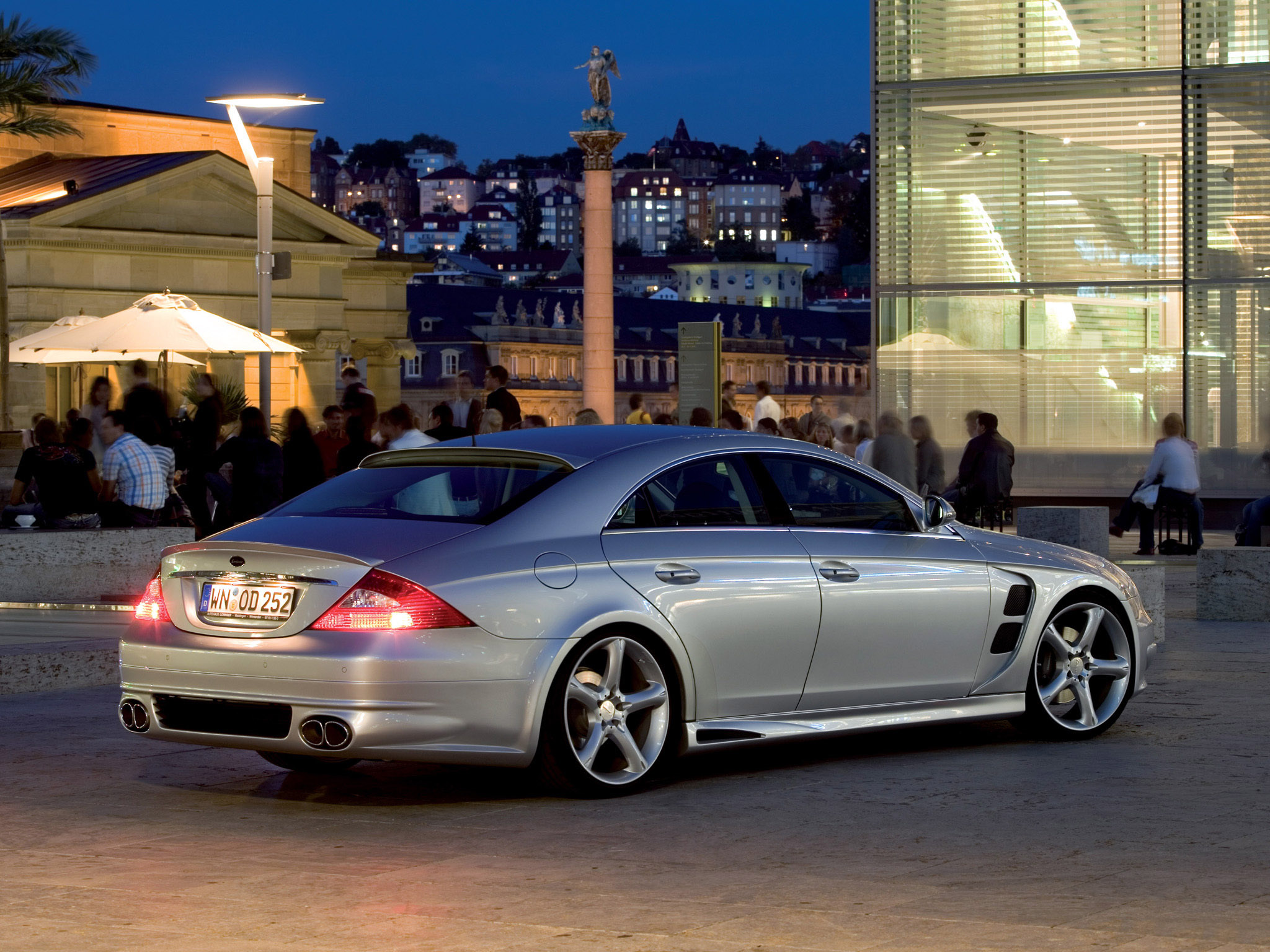 lorinser mercedes cls c219 2005 lorinser mercedes cls c219 2005 photo 4 car in pictures car. Black Bedroom Furniture Sets. Home Design Ideas