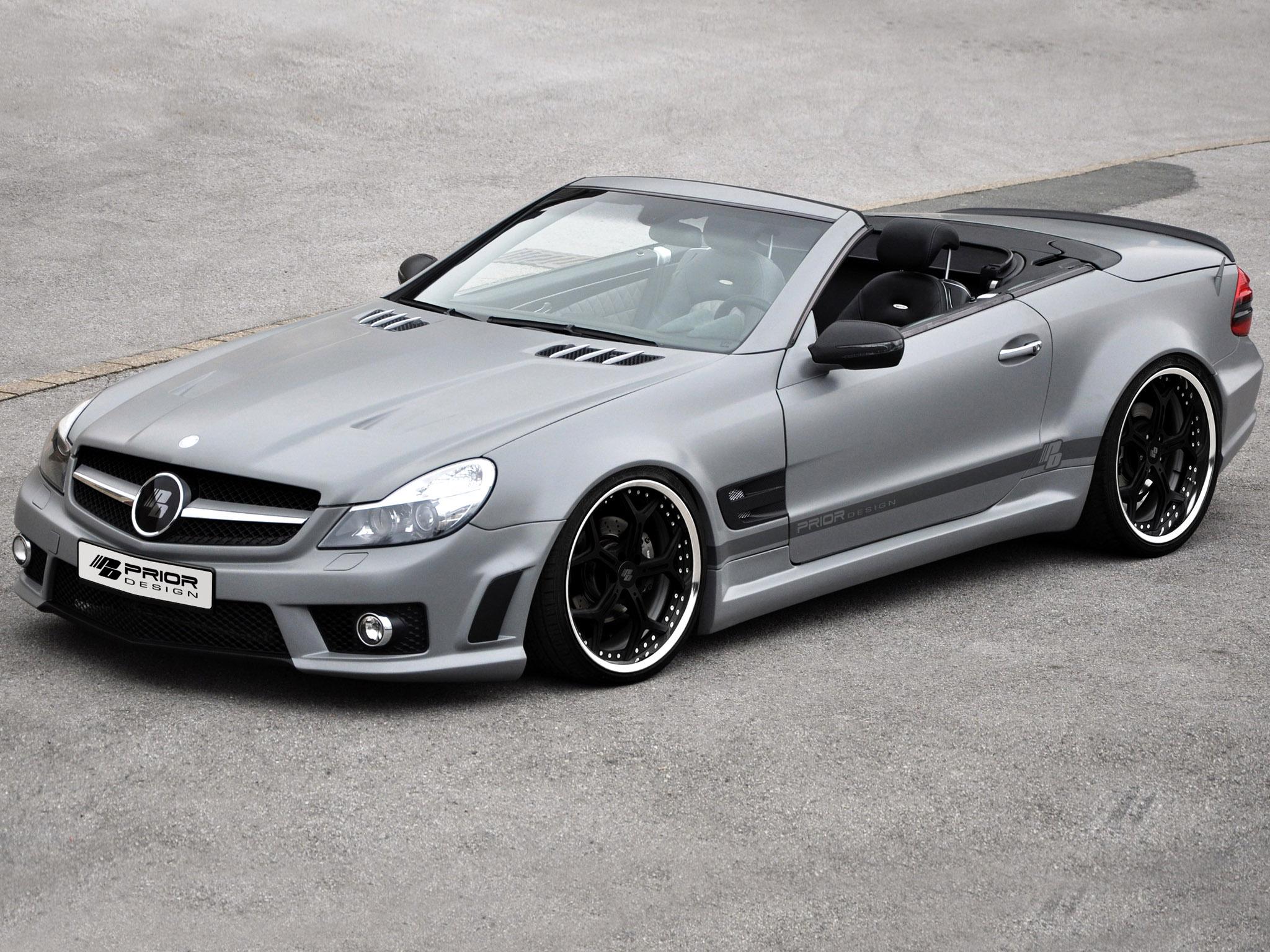 Mercedes SL Receives Prior Design Tuning Package - autoevolution