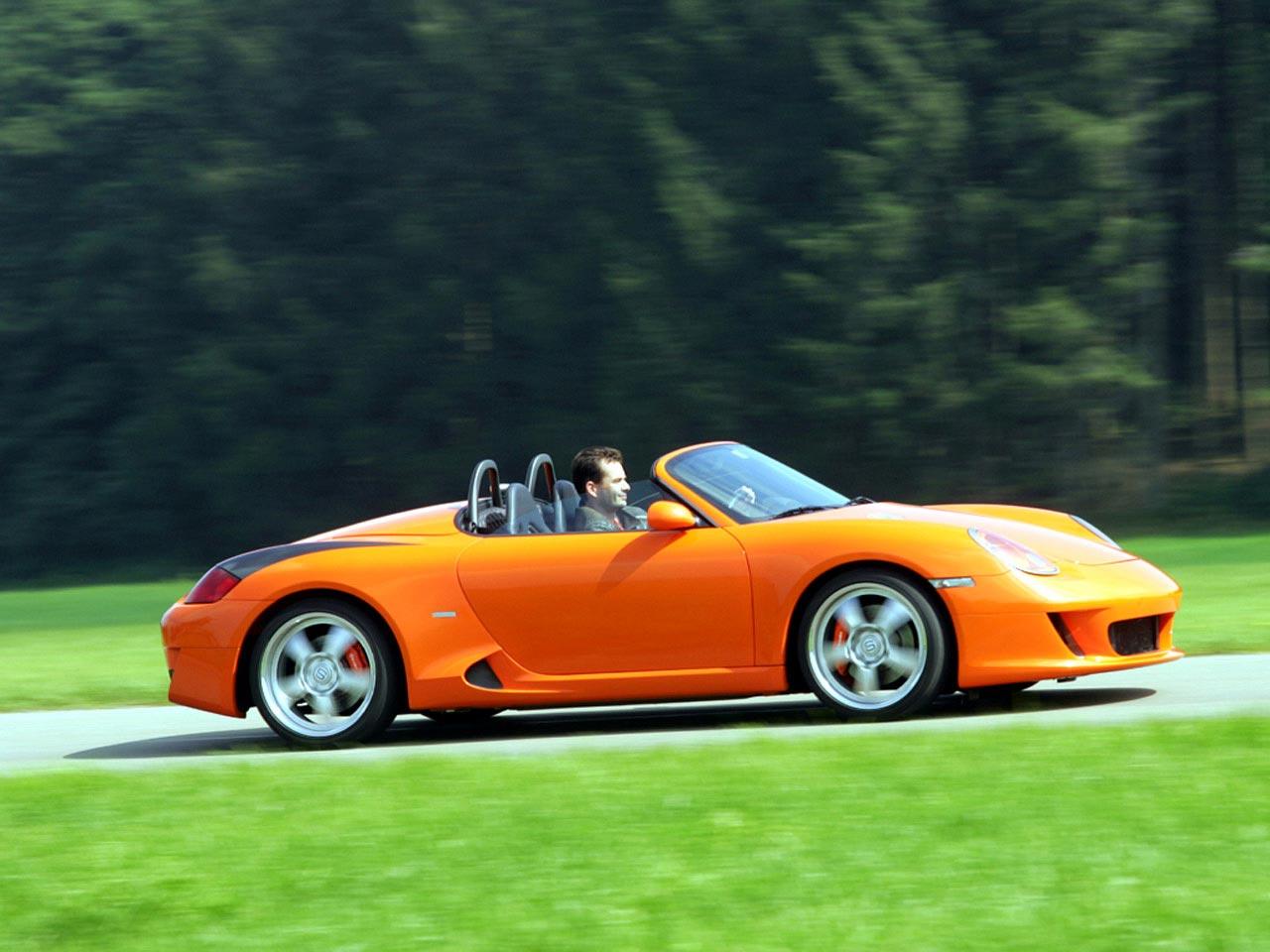 Ruf Porsche Boxster R Spyder 2002 2005 Ruf Porsche Boxster