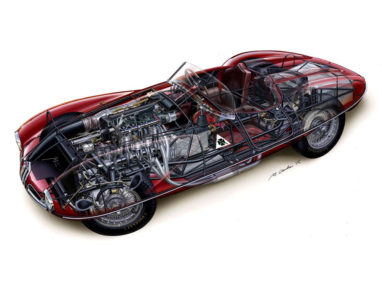 Alfa Romeo 1900 C52 Disco Volante Spider 1359 1952 Alfa