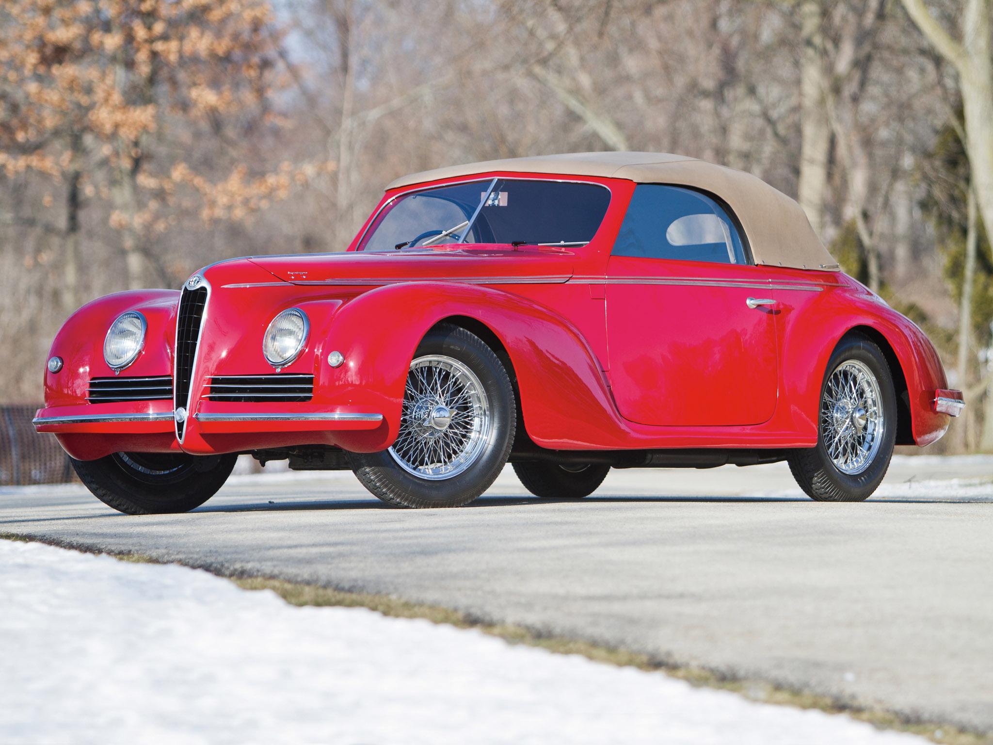 alfa romeo 6c 2500 sport cabriolet 1942 alfa romeo 6c 2500. Black Bedroom Furniture Sets. Home Design Ideas