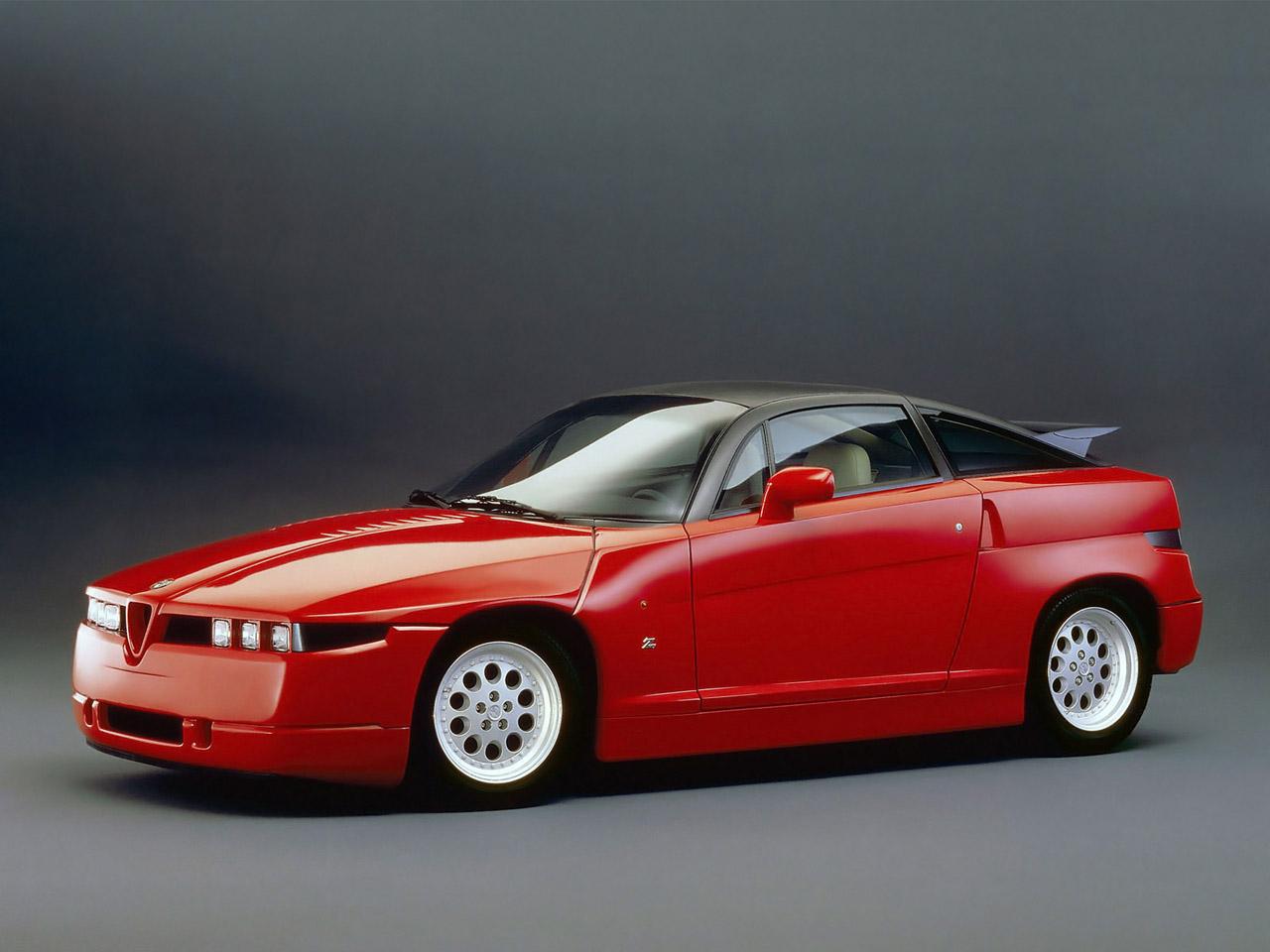alfa romeo sz sprint zagato experimental sportscar 1989-1991 alfa