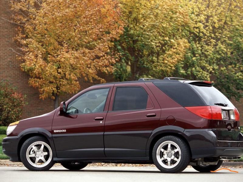 Buick Rendezvous 2002 Buick Rendezvous 2002 Photo 01 Car