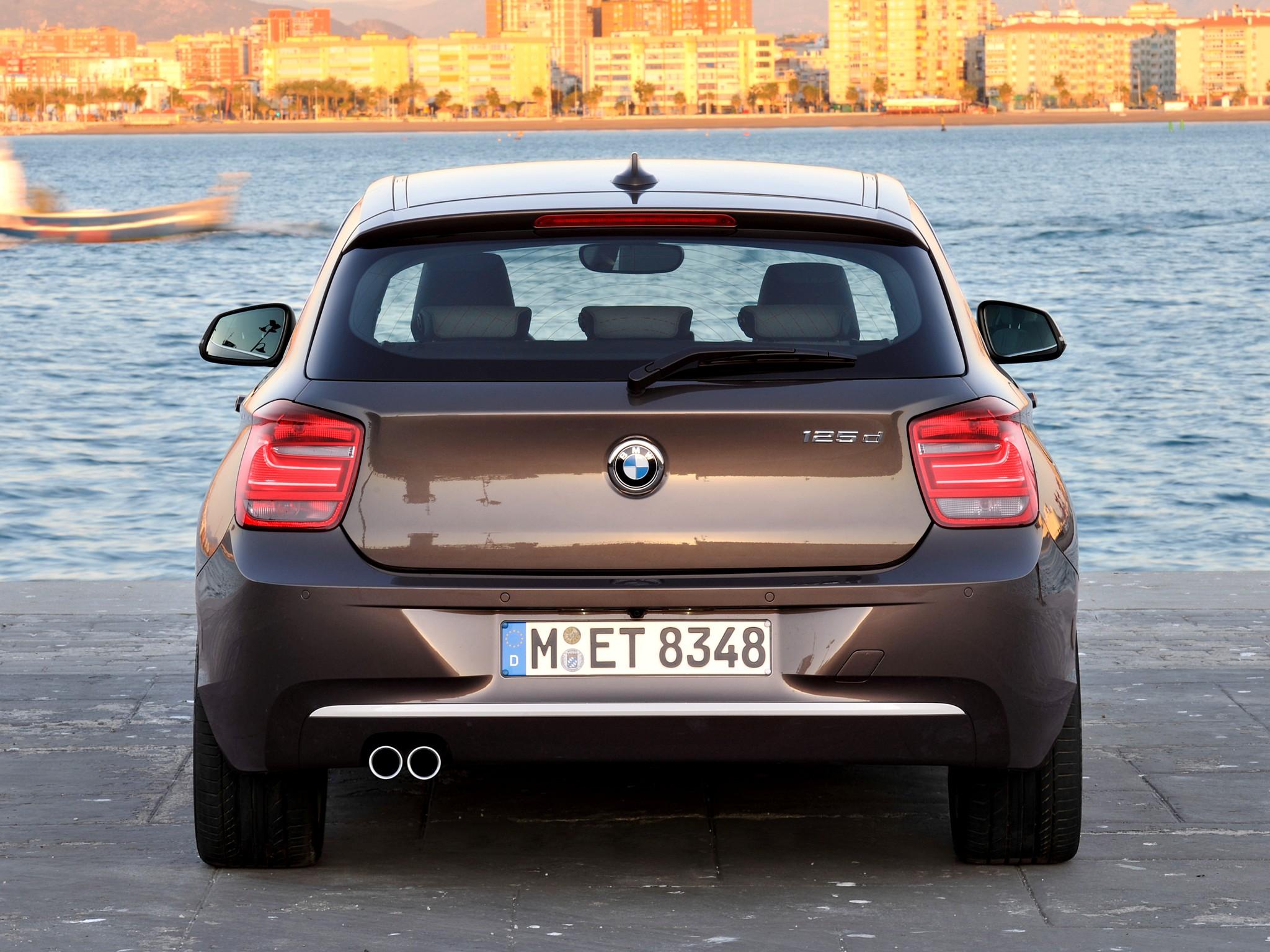 BMW 1-Series 125d-3 door Urban Line F21 2012 BMW 1-Series 125d-3 ...
