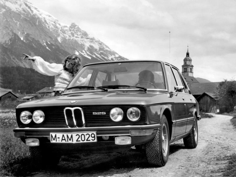 Bmw 5 Series Sedan E12 1972 1976 Bmw 5 Series Sedan E12 1972 1976