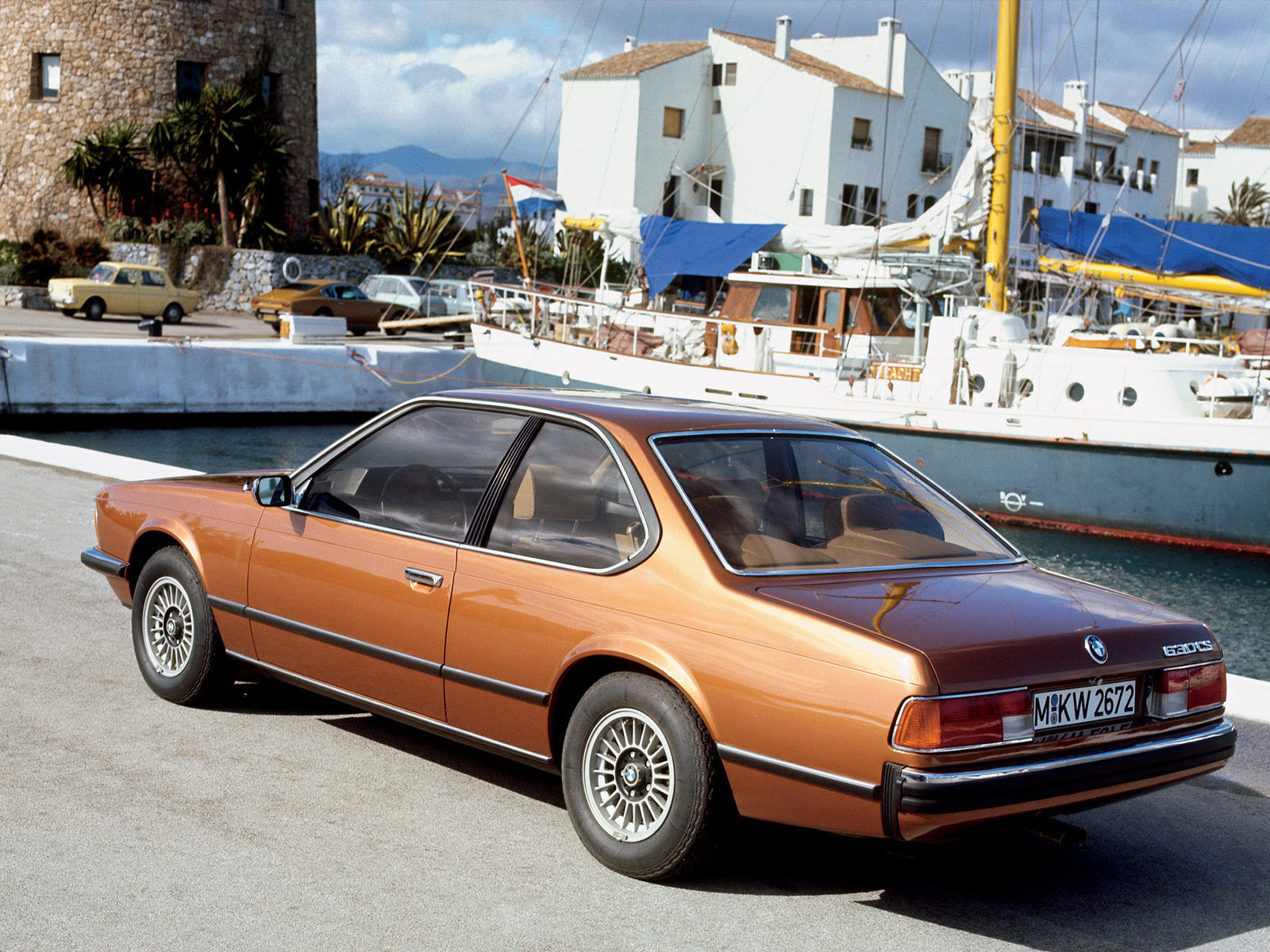 Car in pictures - car photo gallery » BMW 6-Series 630cs E24 1976-1979 Photo 02