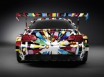 BMW M3 GT2 Art Car by Jeff Koons 2010 Photo 01