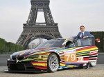 BMW M3 GT2 Art Car by Jeff Koons 2010 Photo 10