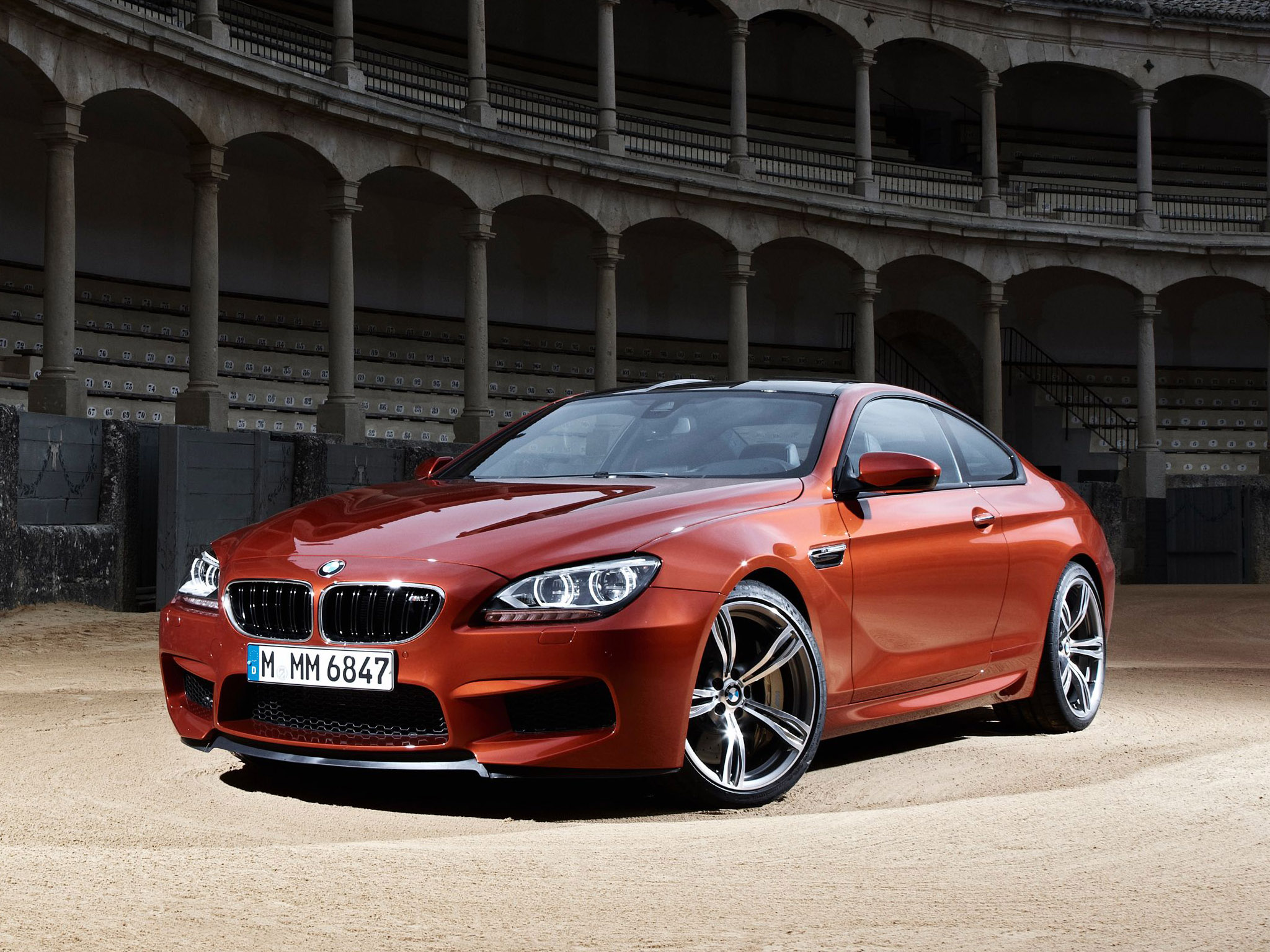 Bmw M6 Coupe F12 2012 Photo 40 Car In Pictures Car Photo Gallery