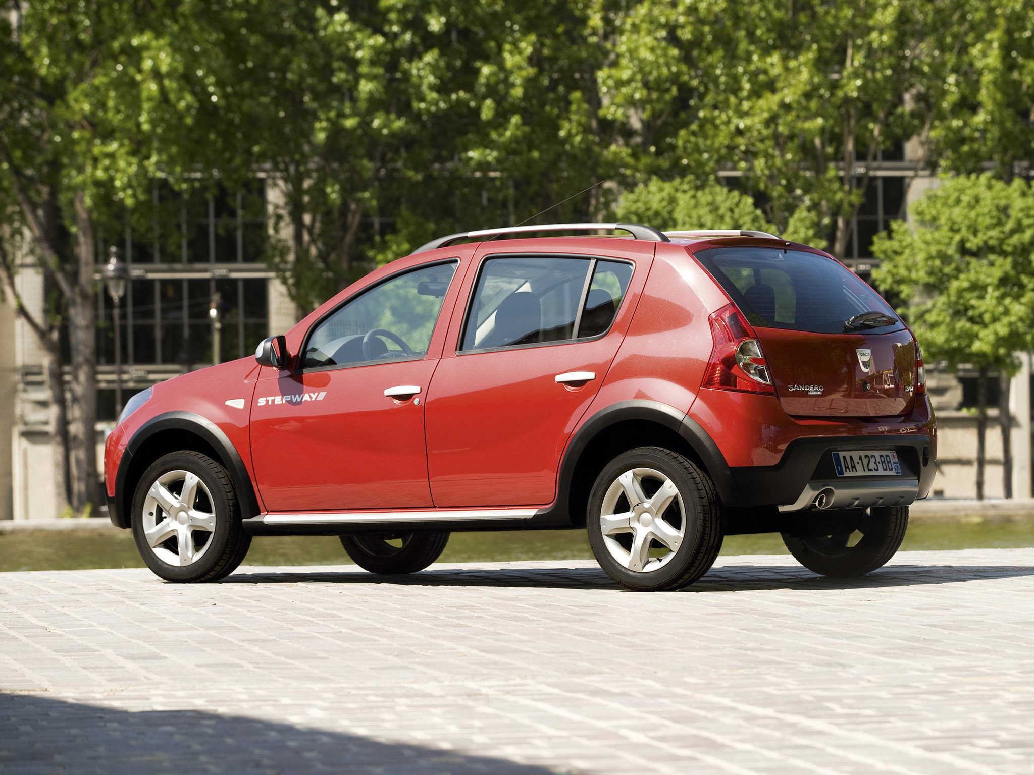 dacia sandero stepway 2009 dacia sandero stepway 2009 photo 05 car in pictures car photo gallery. Black Bedroom Furniture Sets. Home Design Ideas