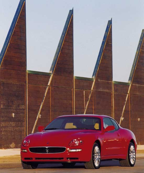 Car in pictures - car photo gallery » Maserati Coupe 2001 ...