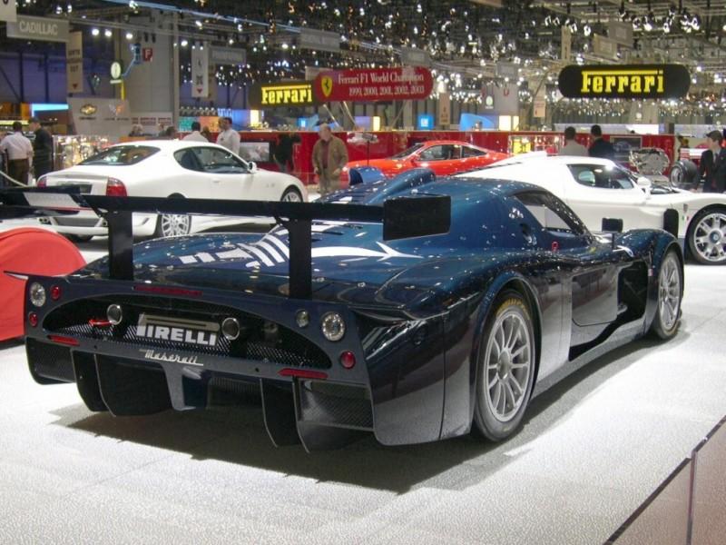 Car in pictures - car photo gallery » Maserati MC12 2004 ...