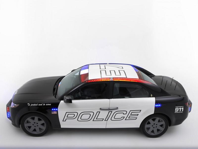 Carbon Motors E7 Police Car 2008 Carbon Motors E7 Police