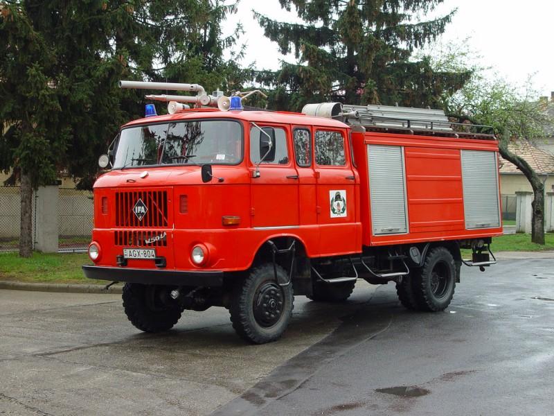 Ifa W50 Feuerwehr Photo 01