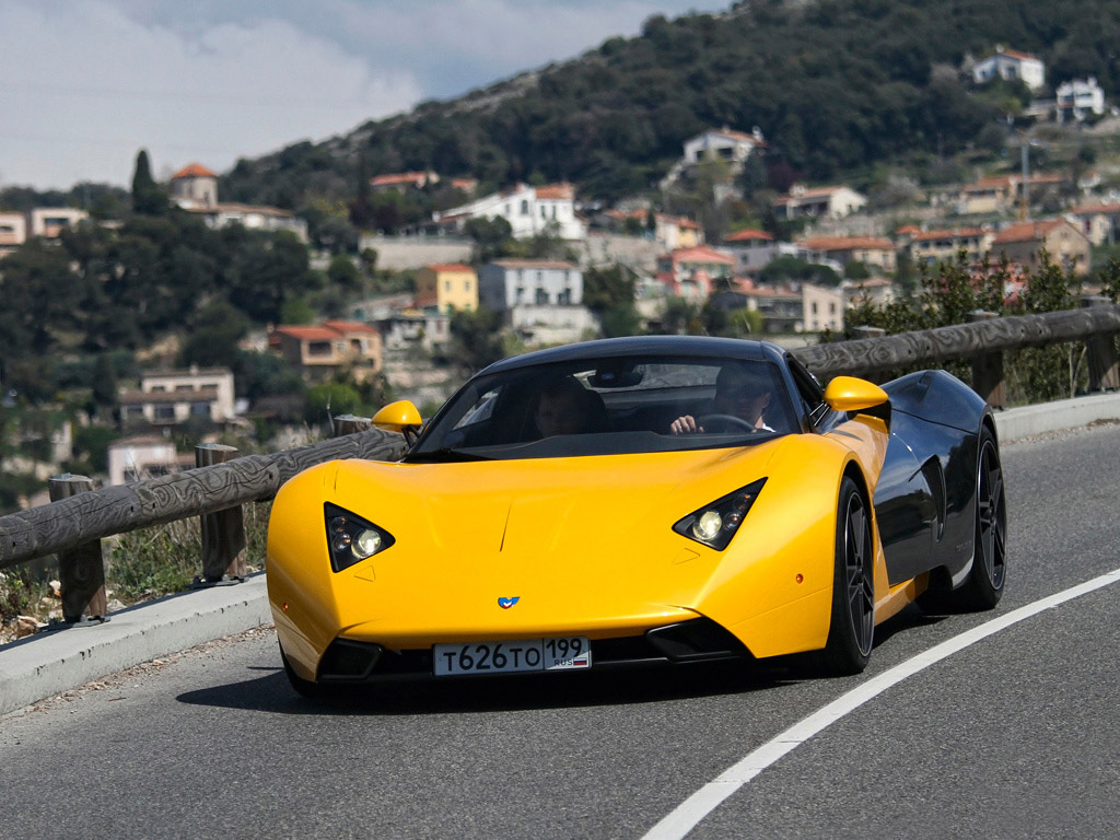 Car in pictures – car photo gallery » Marussia B1 2009 ...