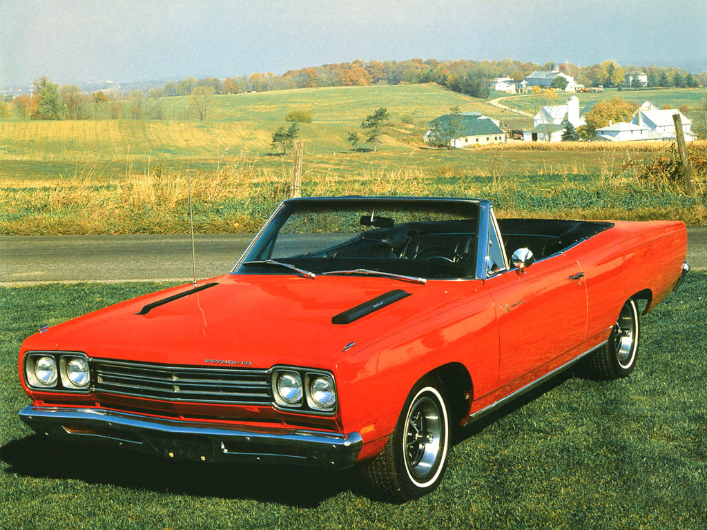 Plymouth Road Runner Convertible 1969 Plymouth Road Runner Convertible 1969 Photo 03 Car In