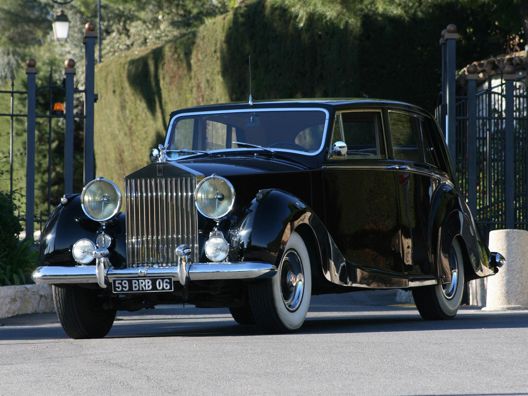 Rolls Royce Silver Wraith Limousine By Hooper 1953 Rolls