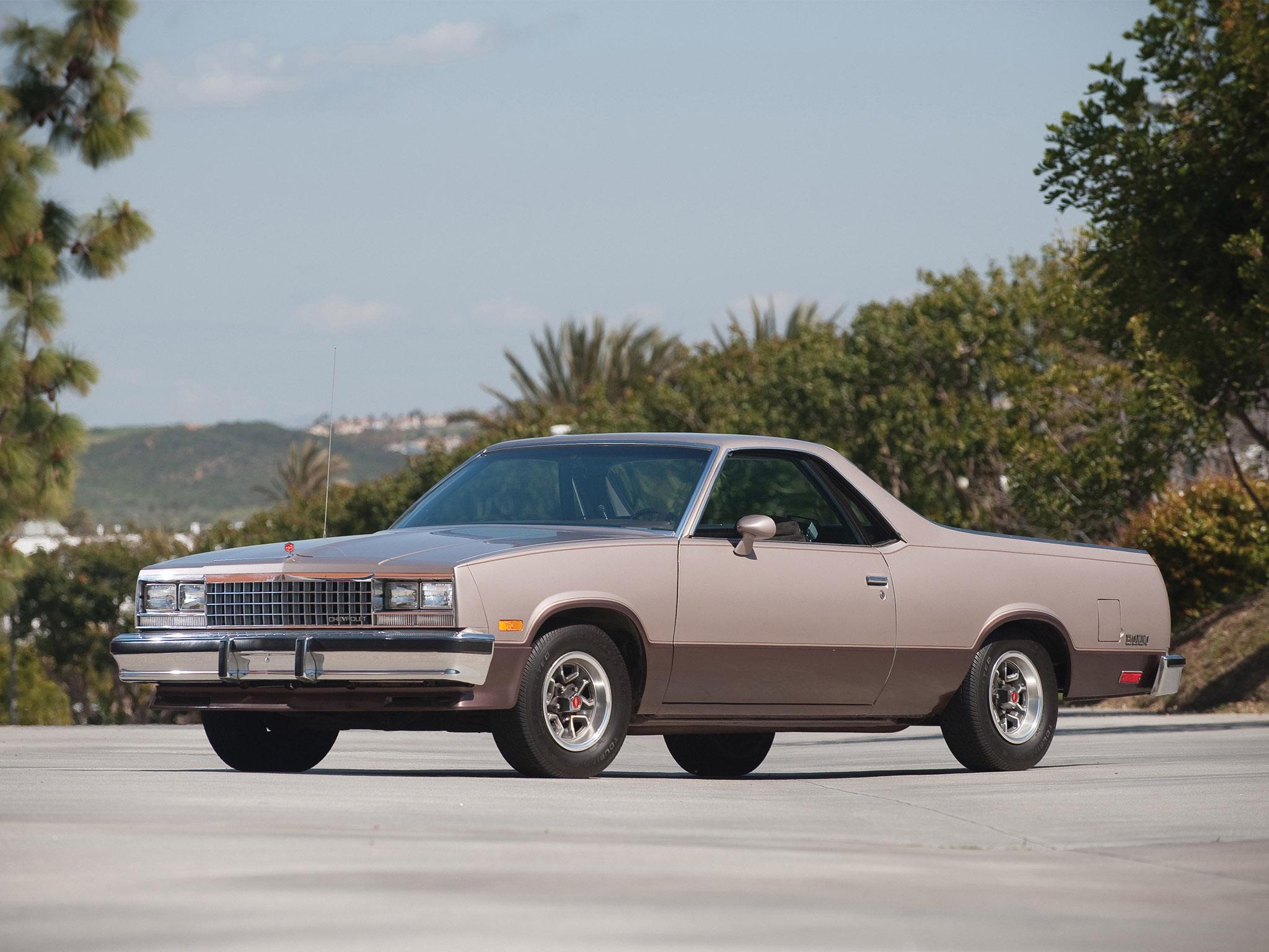 Chevrolet El Camino 1982 1987 Chevrolet El Camino 1982