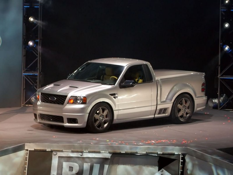 Ford Svt Lightning >> Car in pictures – car photo gallery » Ford F-150 Lightning Concept 2003 Photo 06