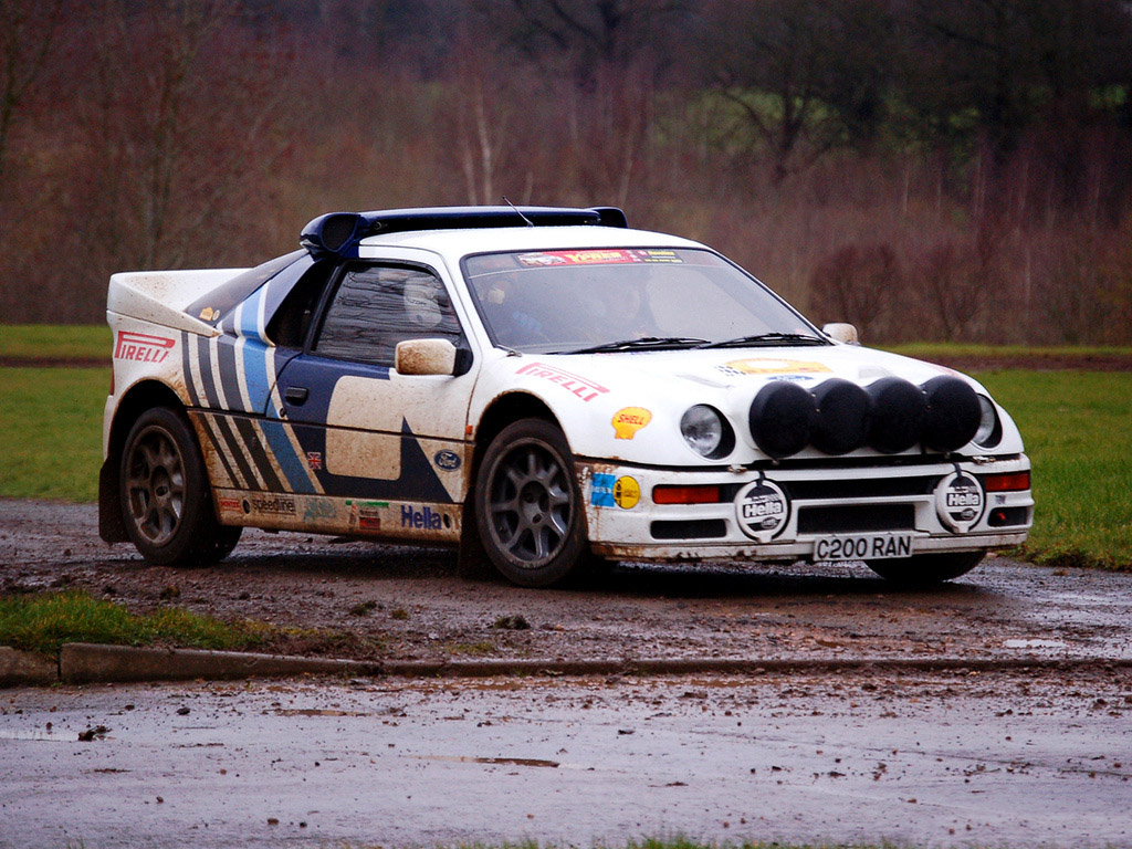 Ford RS200 Group B Rally Car  Automovehicles  Pinterest  Cars