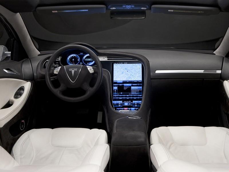 Tesla Model S Concept 2009 Tesla Model S Concept 2009 Photo 09 Car