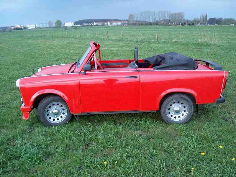 Trabant 601 Cabrio Trabant 601 Cabrio Photo 02 Car In