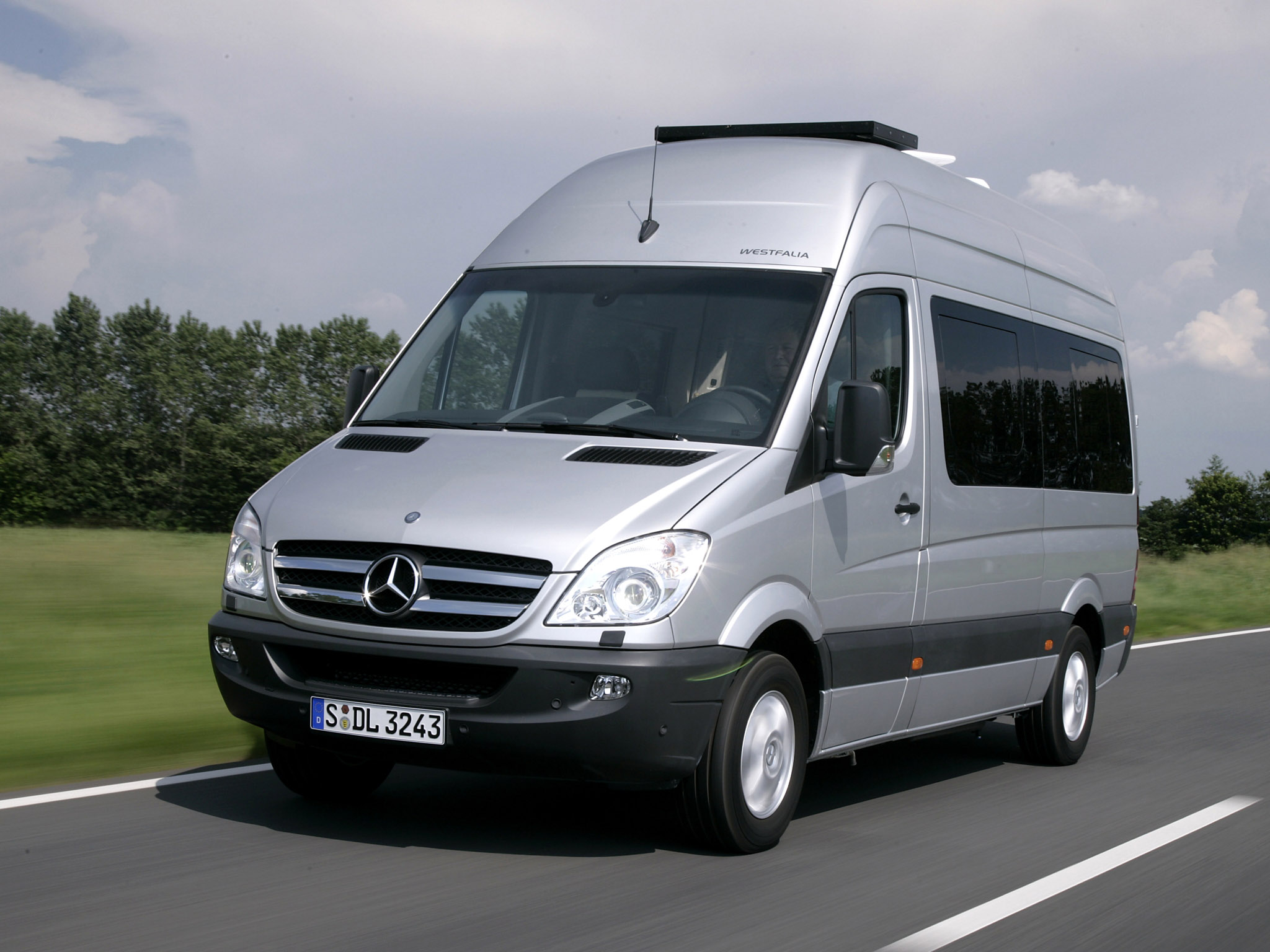 westfalia mercedes sprinter james cook compact w906 2007. Black Bedroom Furniture Sets. Home Design Ideas