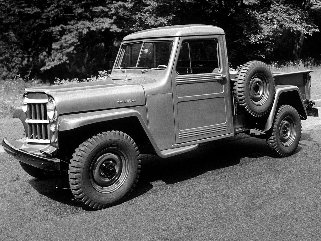 Willys Jeep Tuning >> Willys Jeep Truck 1947-1965 Willys Jeep Truck 1947-1965 Photo 02 – Car in pictures - car photo ...