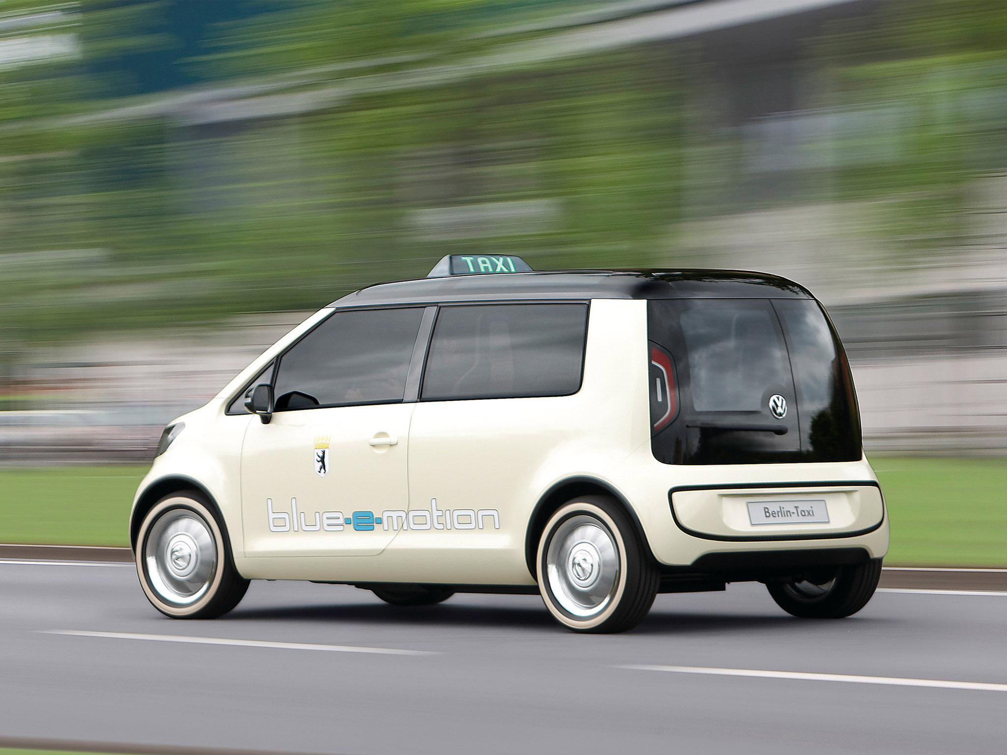 volkswagen berlin taxi concept 2010 volkswagen berlin taxi. Black Bedroom Furniture Sets. Home Design Ideas